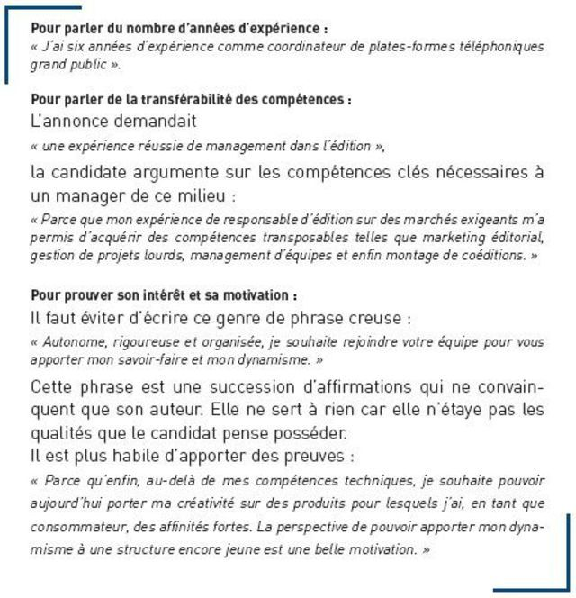 Lettre De Motivation Stage: Lettre De Motivation: Une Structure En Trois Parties