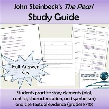 an analysis of pearl a novel by john steinbeck John steinbeck's novella the pearl was published in 1947 it tells the story of a poor family, father kino, mother juana, and child coyotito, who try to live with the consequences of kino's.