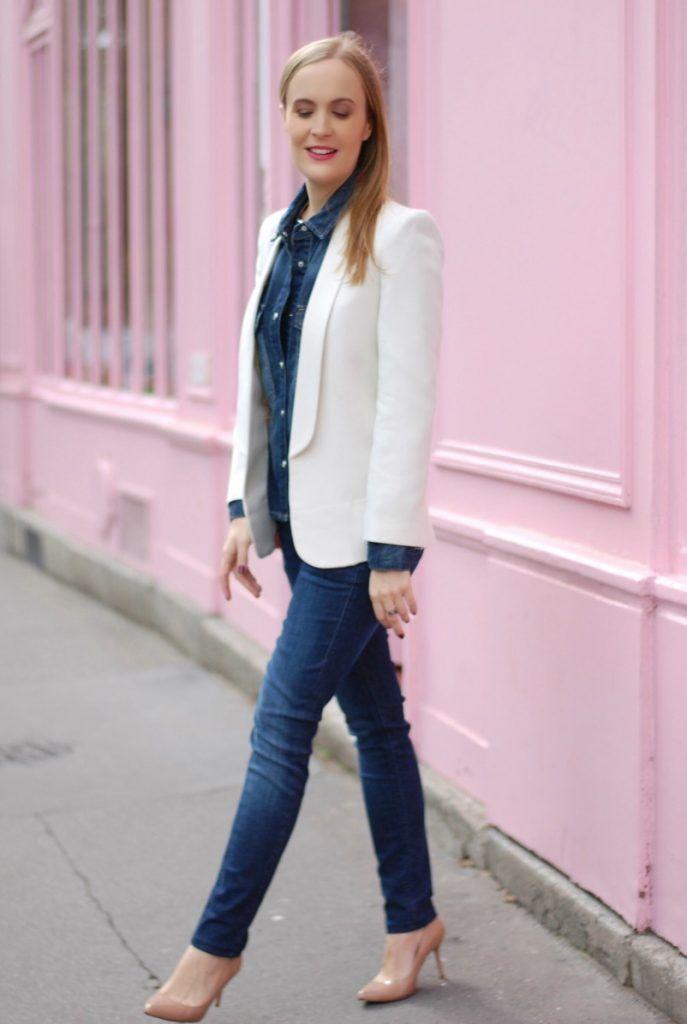 Petite veste blanche