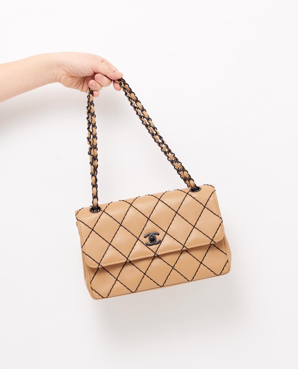 c218dbecee1a vintage chanel surpique classic flap bag gallery | VINTAGE CHANEL ...