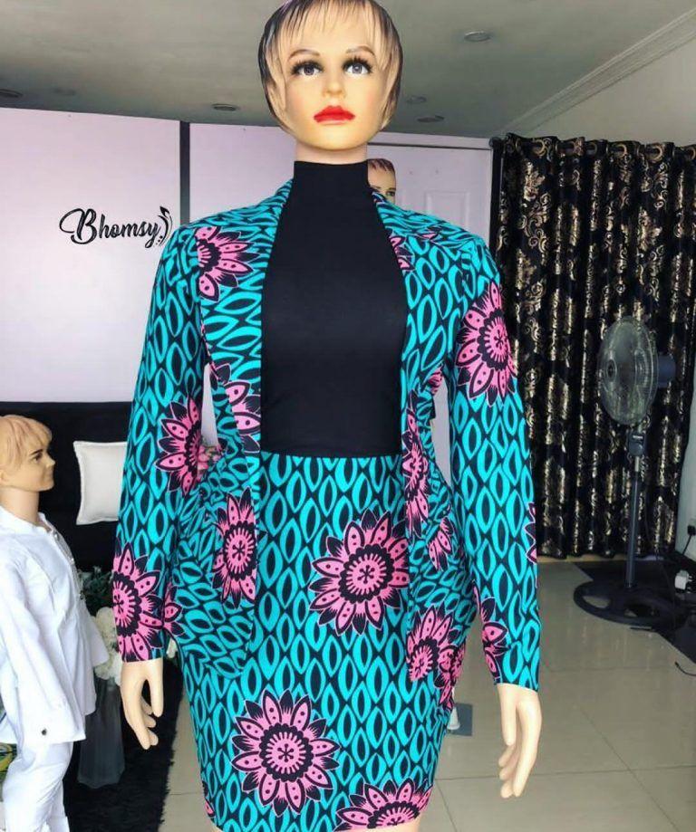 81a62aa285644a Hot Ankara Skirt & Blouse Styles For Your Next Owamba | African ...