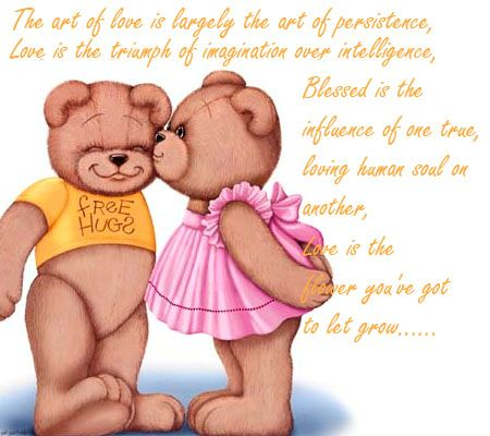 Love Is The Flower You Ve Got To Let Grow Teddy Day Teddy Bear