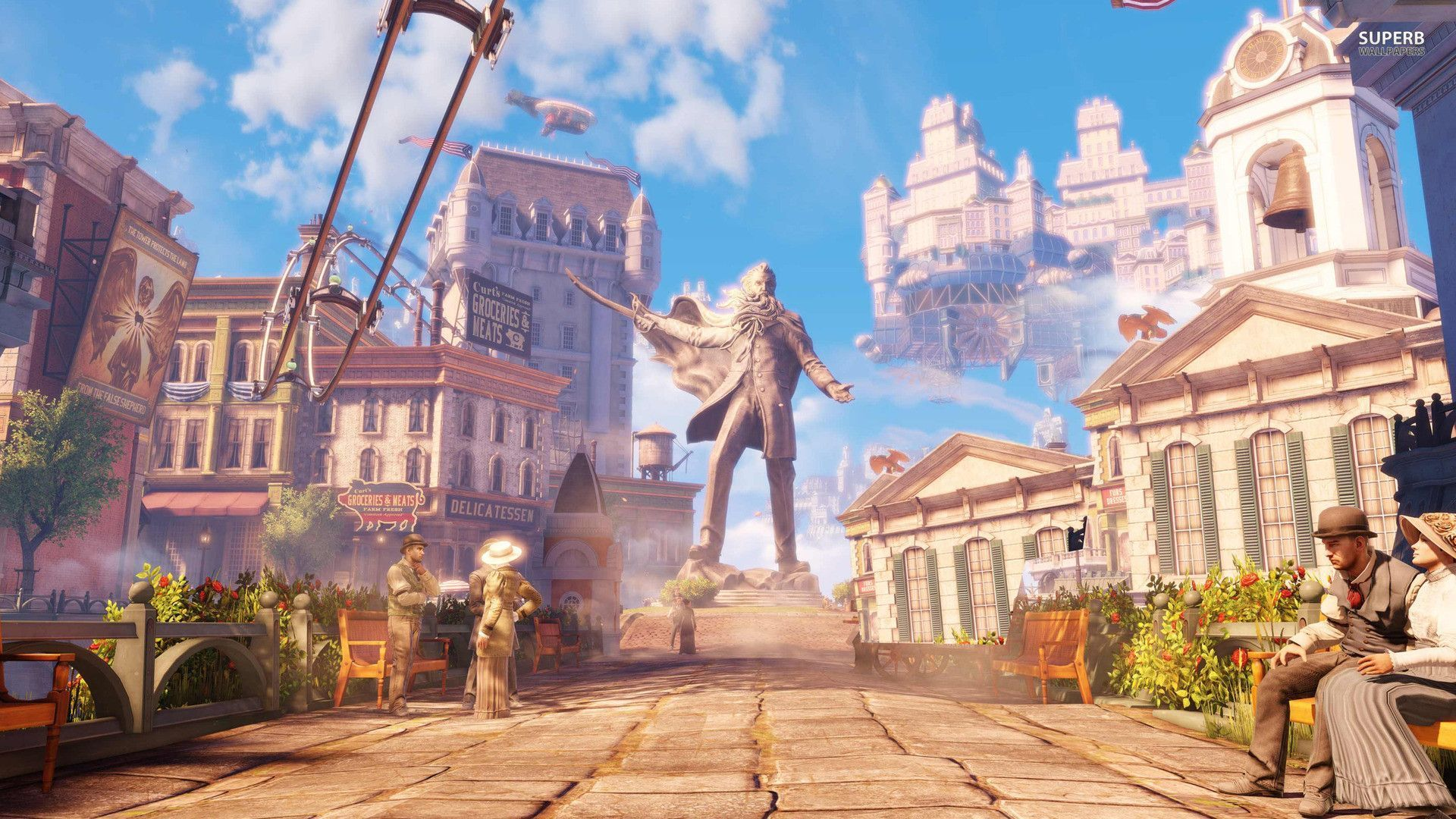 BioShock Infinite Wallpapers X Wallpaper