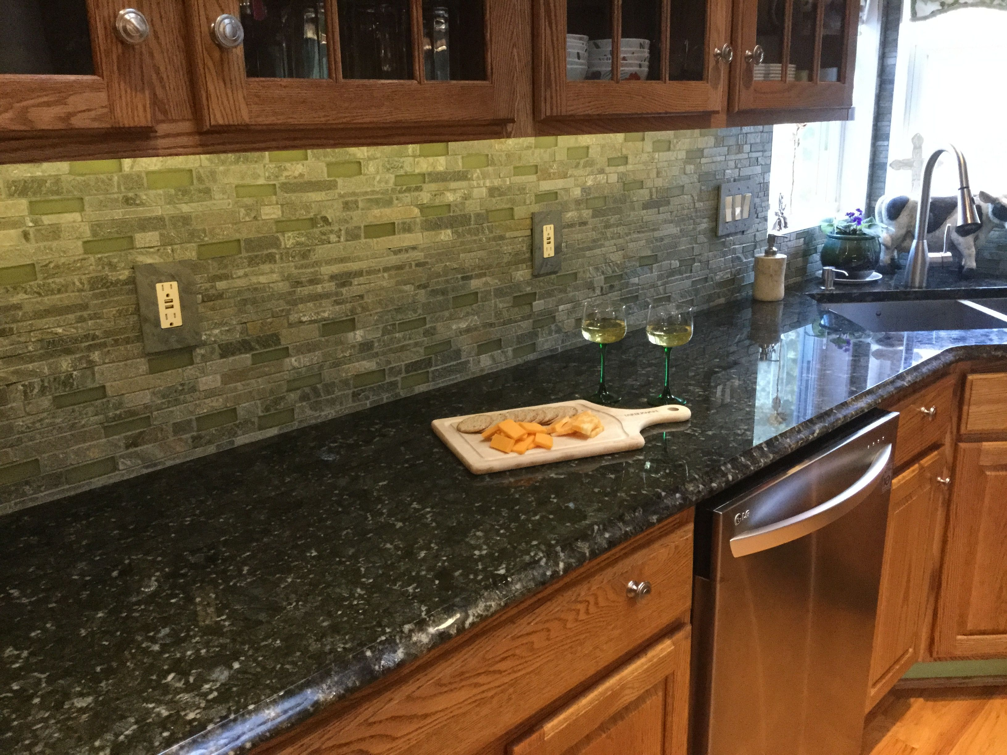Verde Butterfly Granite By Stone Dynamics Martinsville