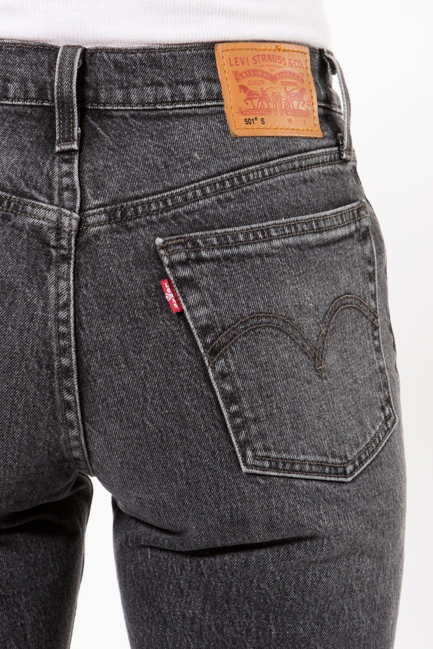 15335bcd 501 Skinny co Black | Byxor/Jeans - Dam | Grandpa - Scandinavia ...
