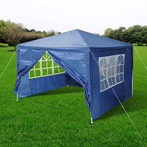 Chimaera 10 X 10 Canopy Party Tent Tarp Blue Click On The Image For Additional Details This Is An Amazon Affiliate Link A Tent Party Tent Tent Accessories
