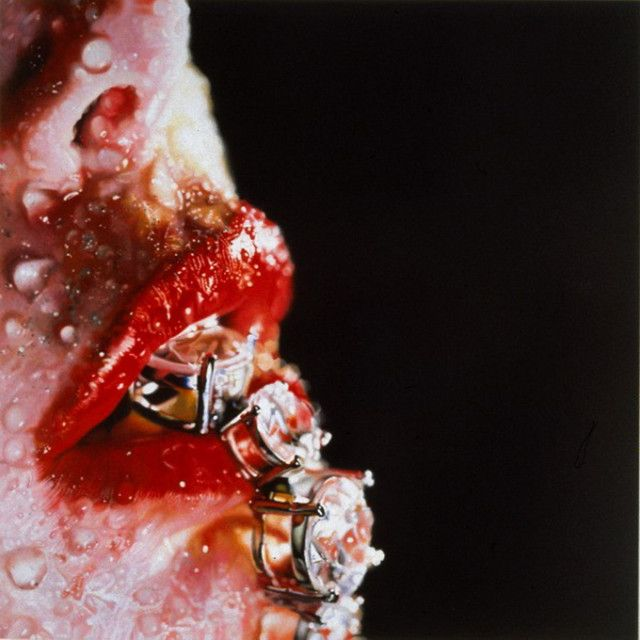 Amazing Hyper-realistic Paintings by Marilyn Minter