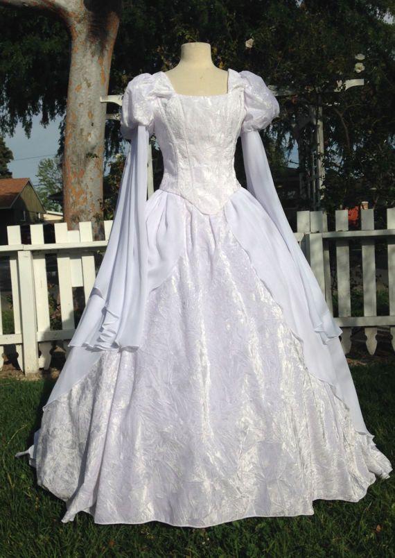 f1339a7b3c9 Medieval Princess Fantasy custom wedding gown velvet and