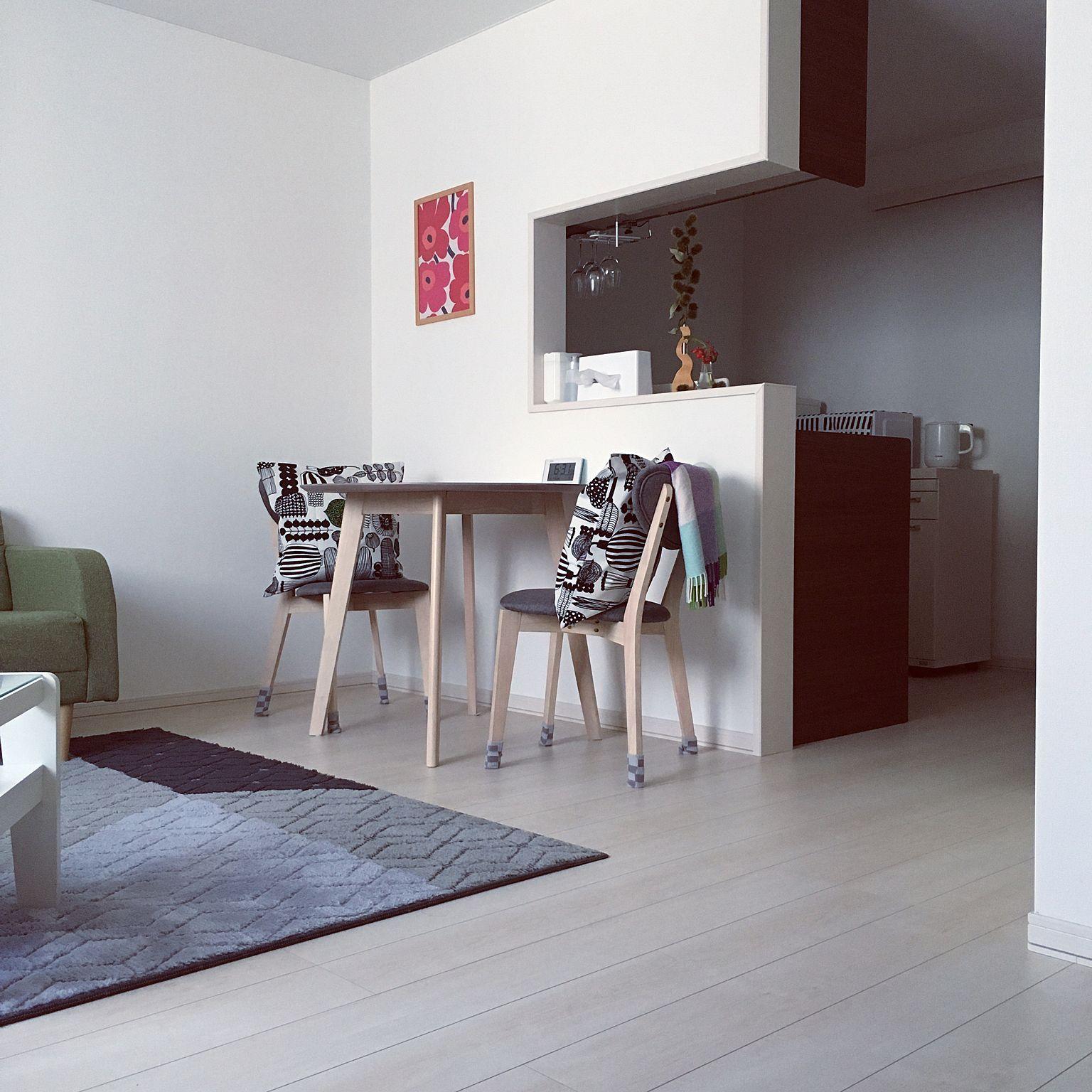 キッチン 一人暮らし 北欧 1ldk 栗 などのインテリア実例 2017 09 04 06 33 46 Roomclip ルームクリップ インテリア インテリア 実例 家具のアイデア