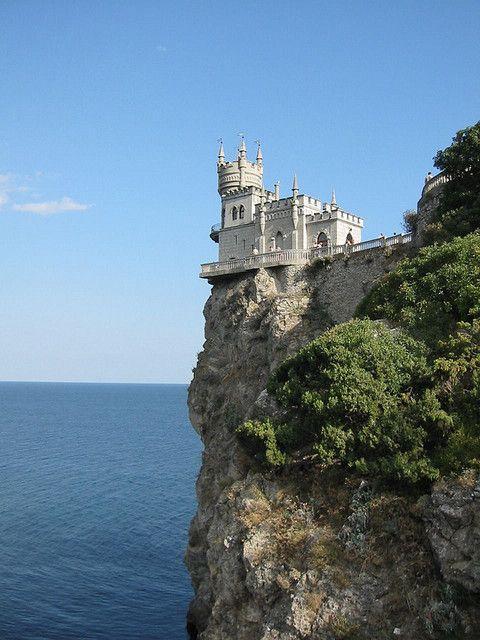 Swallows nest castle Ukraine