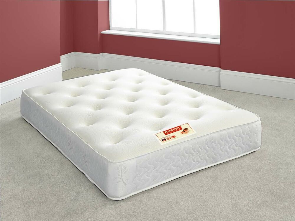 """Main Bedroom 12"""" Extra Deep Tufted Double Sided Memory"""