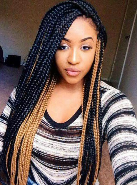 Long braided hairstyles for african american women | Braided Wigs ...