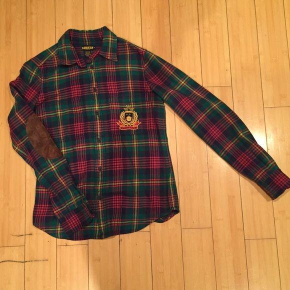 Ralph Lauren Rugby Flannel Shirt Flannel Shirt Flannel Women S Plaid Shirt