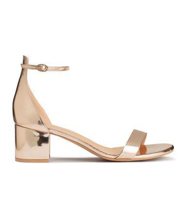 H amp;m Con Cl Sandalias PulseraDorado Mujer Zapatos yf7gIvYb6m