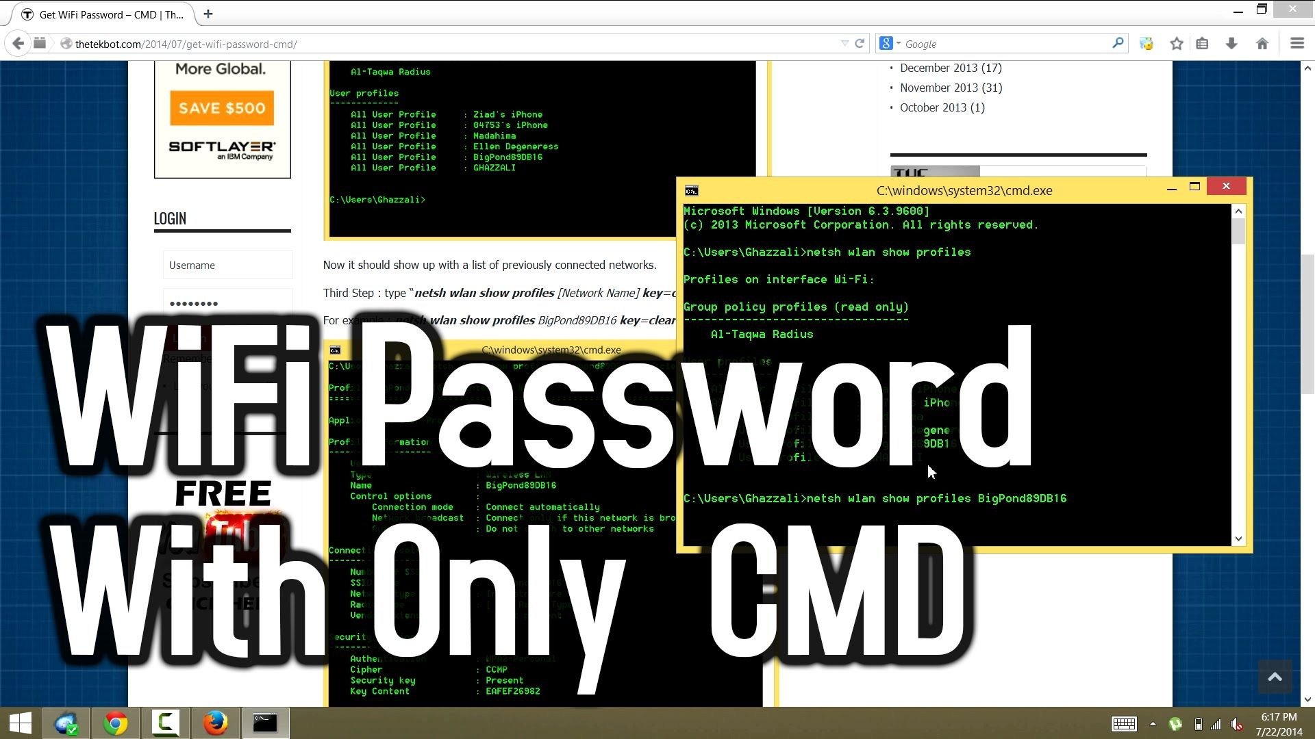 hack windows 7 password through network