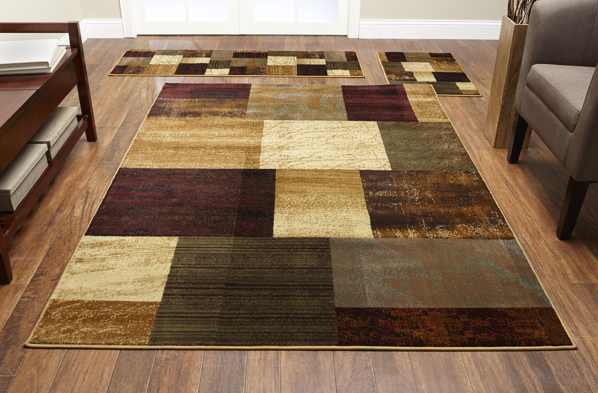 Fingerhut mcleland design brodie 3 pc area rug set