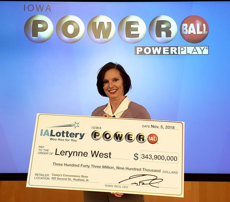 This Iowa grandmother won half of a nearly $700 million