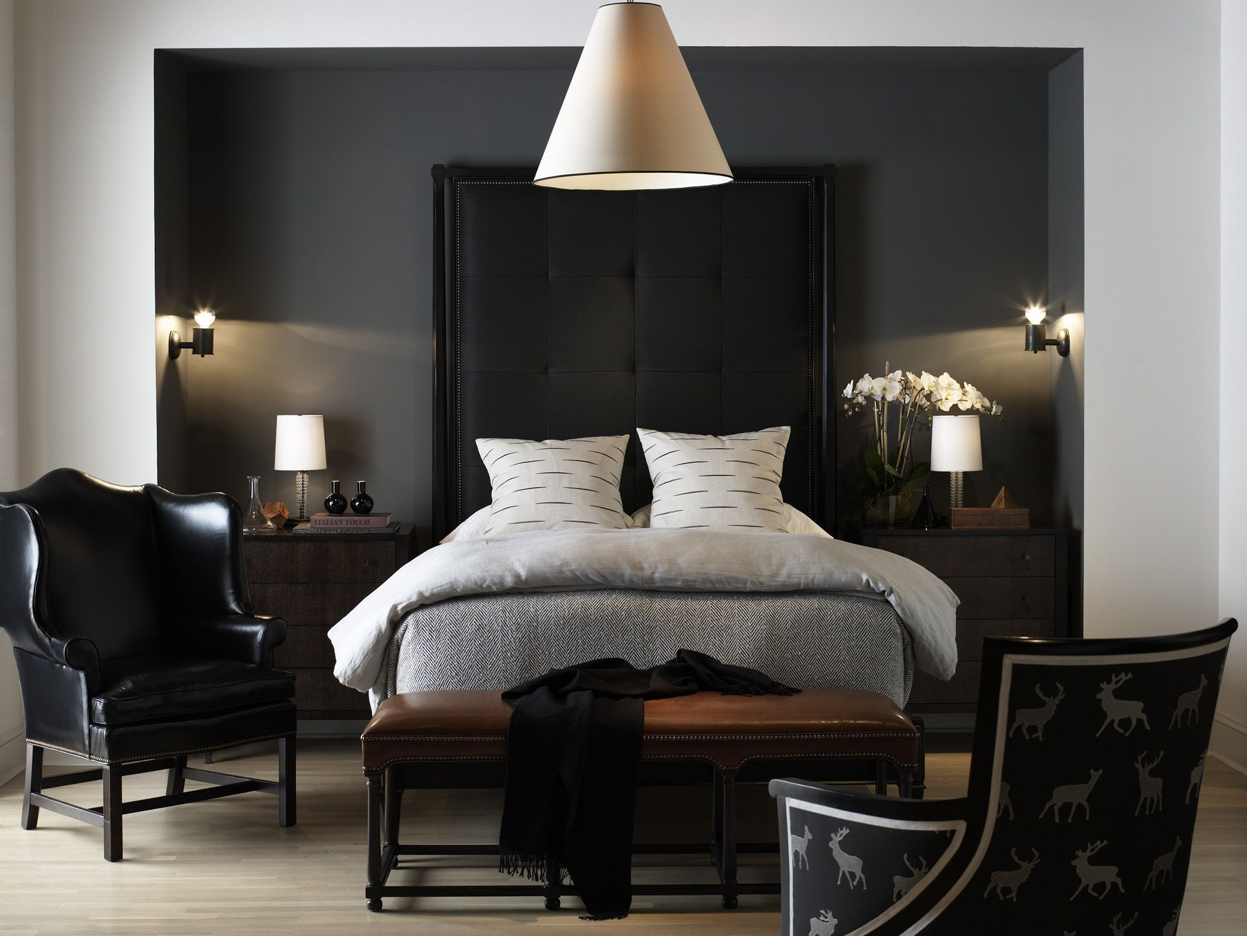 Artisan Bed with Biscuit Tufted Headboard made without