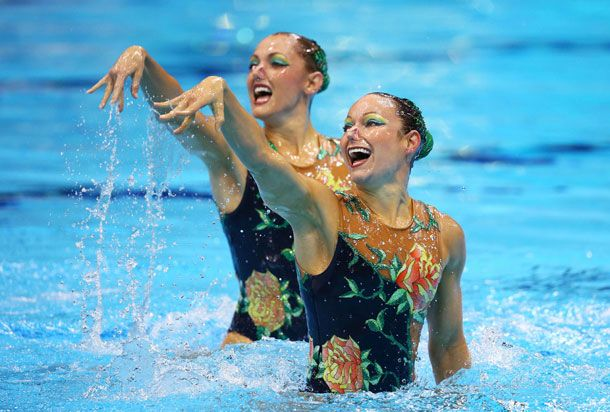 All The Sparkle And Campy Glamour Of Synchronized Swimming Costumes