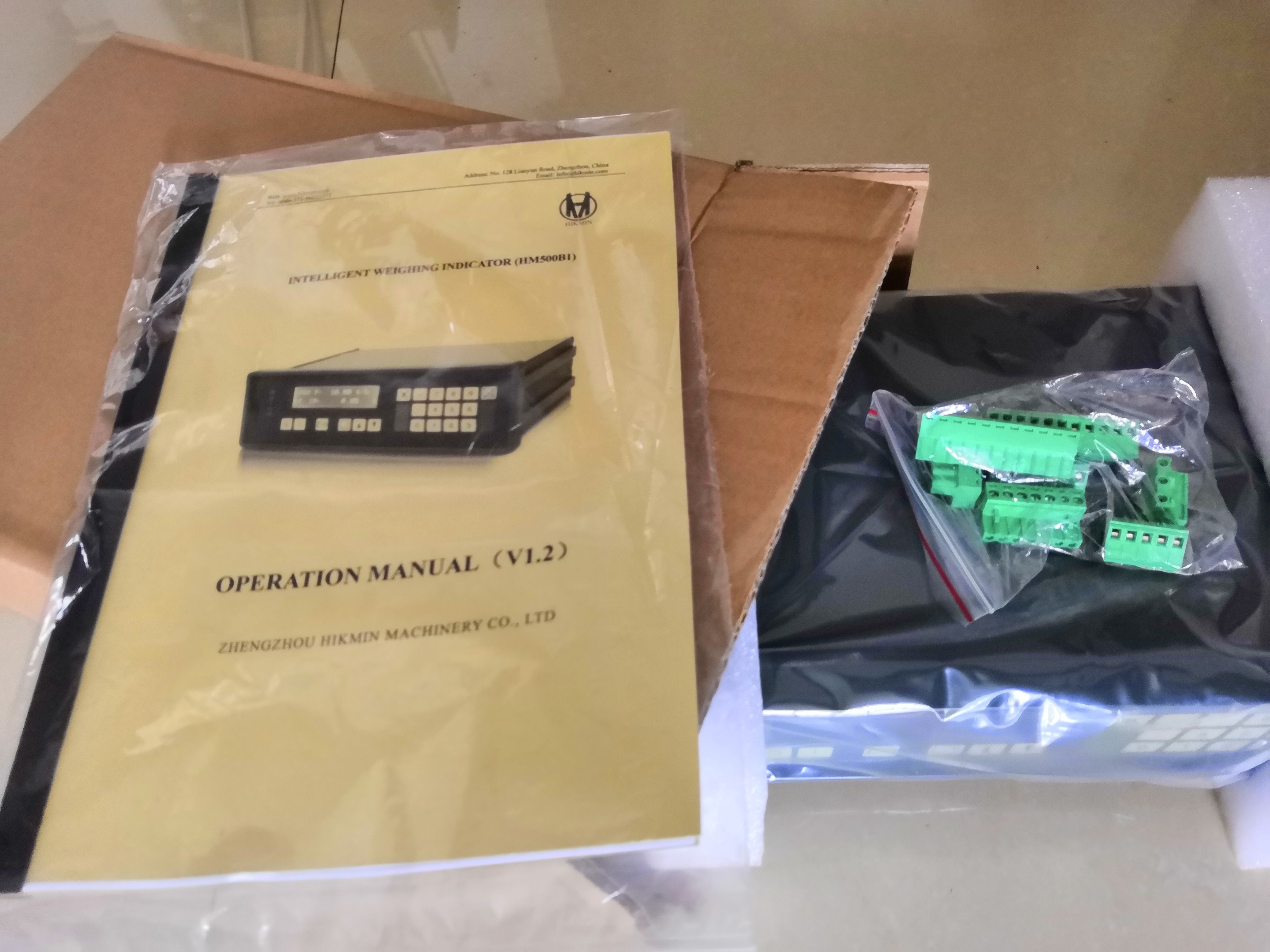 belt scale controller exported to India_belt scale