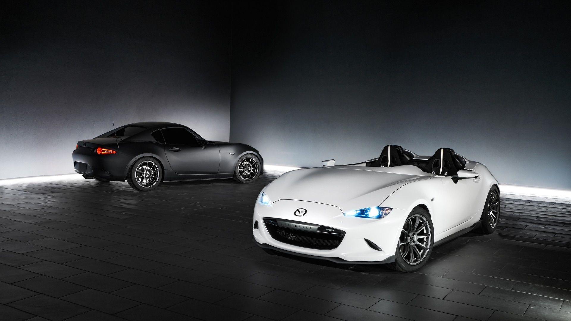 Mazda mx 5 speedster and rf kuro make their appearance at sema the new pair