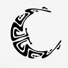 Sol Y Luna Azteca Etnica Buscar Con Google Silueta Tattoos