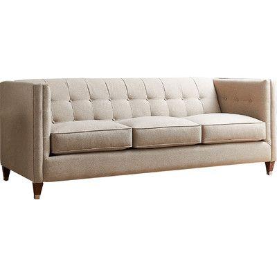 AllModern Custom Upholstery Cecily Sofa Upholstery: Devon Mouse