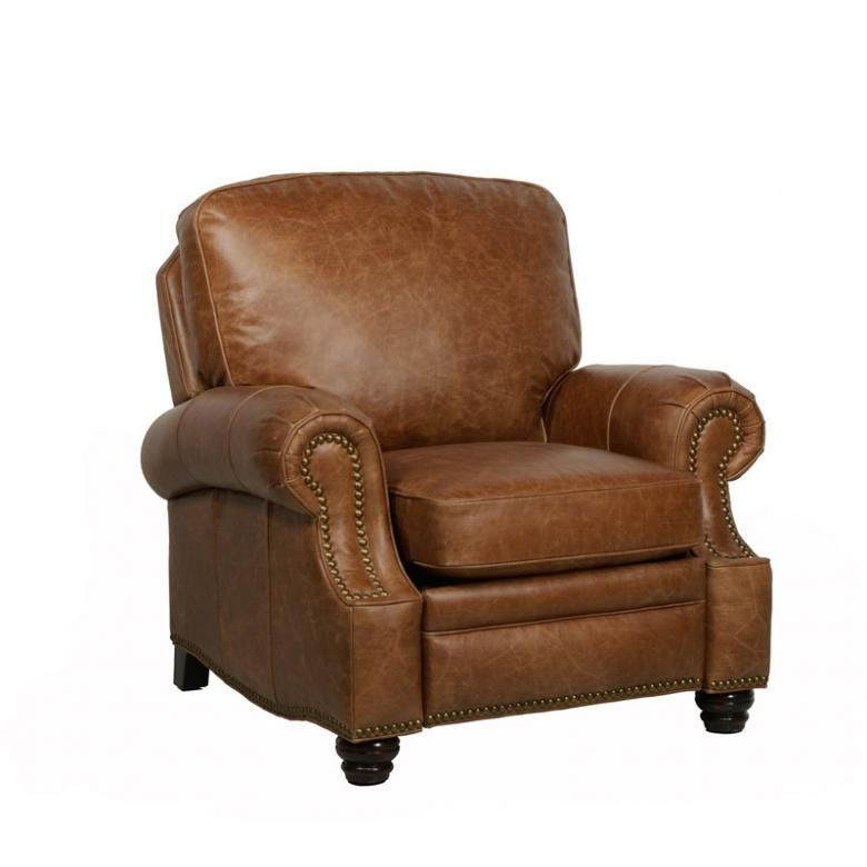 Longhorn II Leather Recliner Chair : Leather Furniture Expo