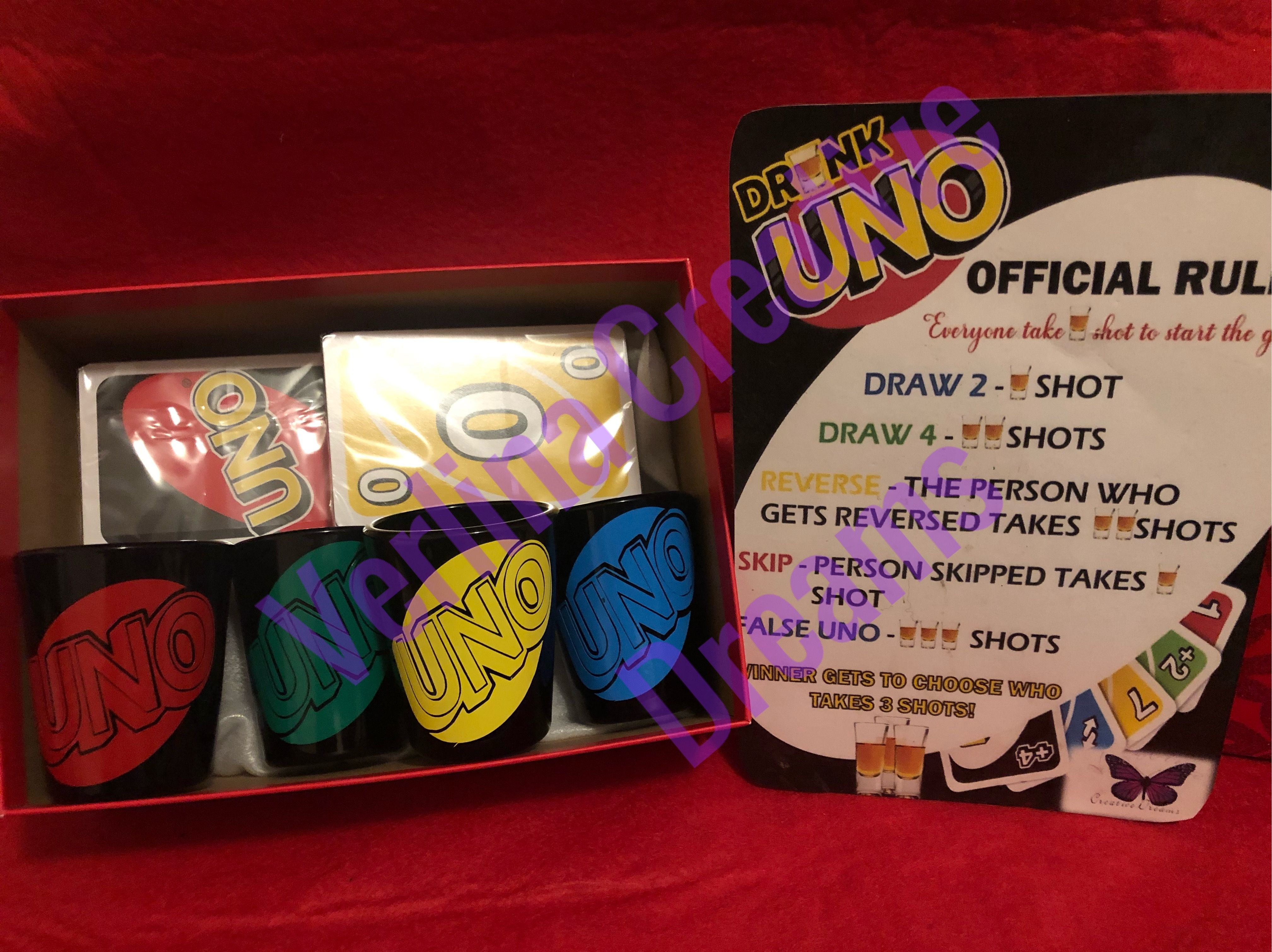Adult  Drunk Card Game UNO