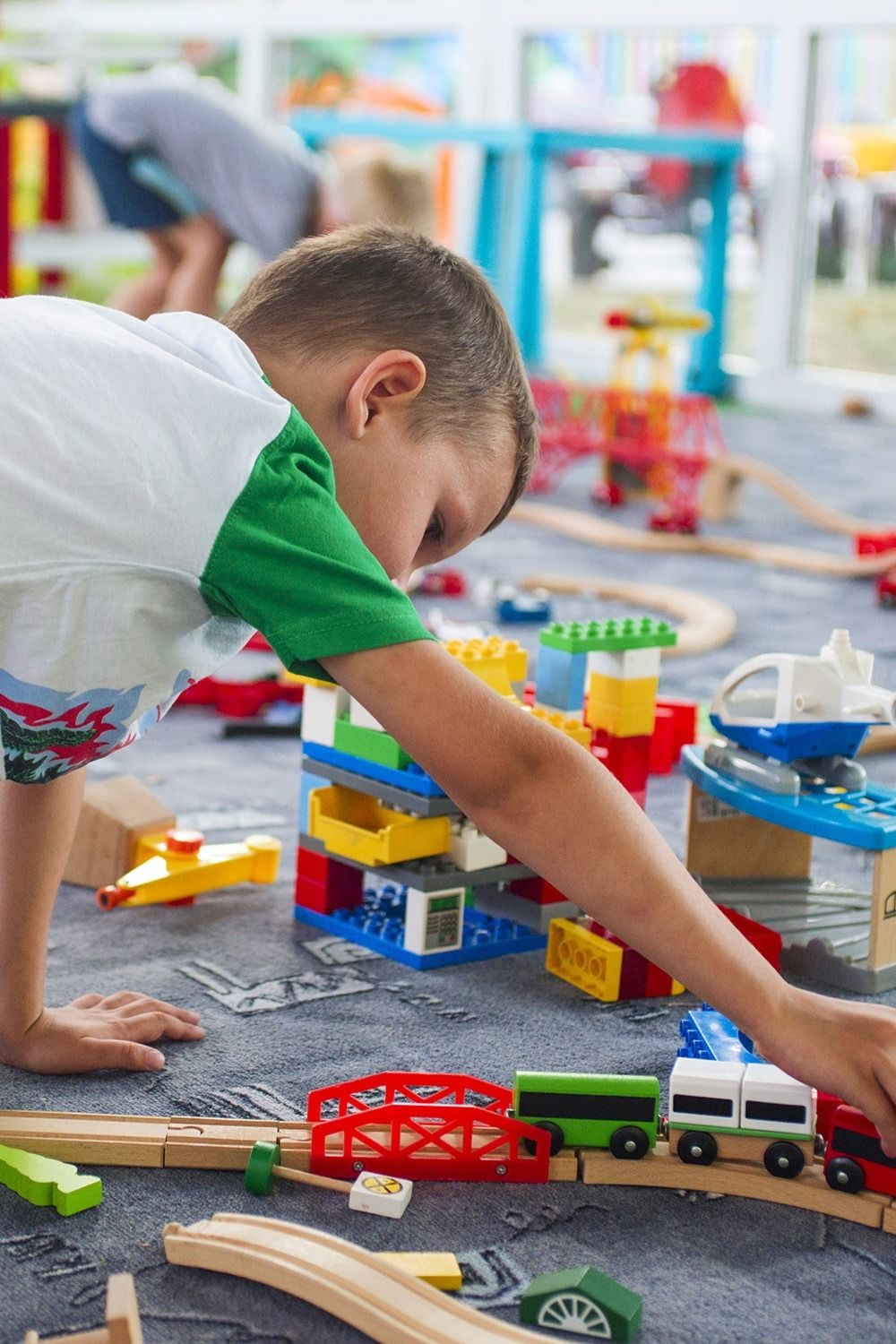 Motorized Train For Wooden Track Games Motherhood Creative Play
