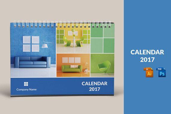 Desk Calendar Template 2017 Corporate Desk Calendar Template