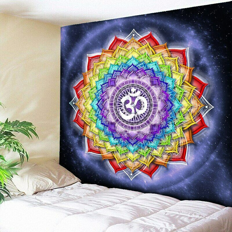 Hippie Boho Wall Hanging Art Tapestries Indian Mandala Tapestry For Home Decor Tapestries Ebay Link In 2020 Tapestry Mandala Tapestry Psychedelic Tapestry
