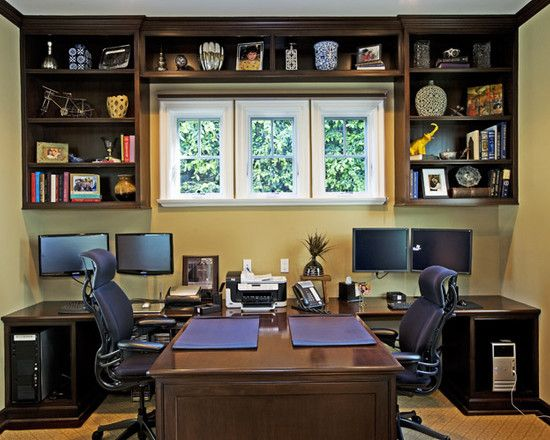 Pacific Palisades Beach Cottage Traditional Home Office Home