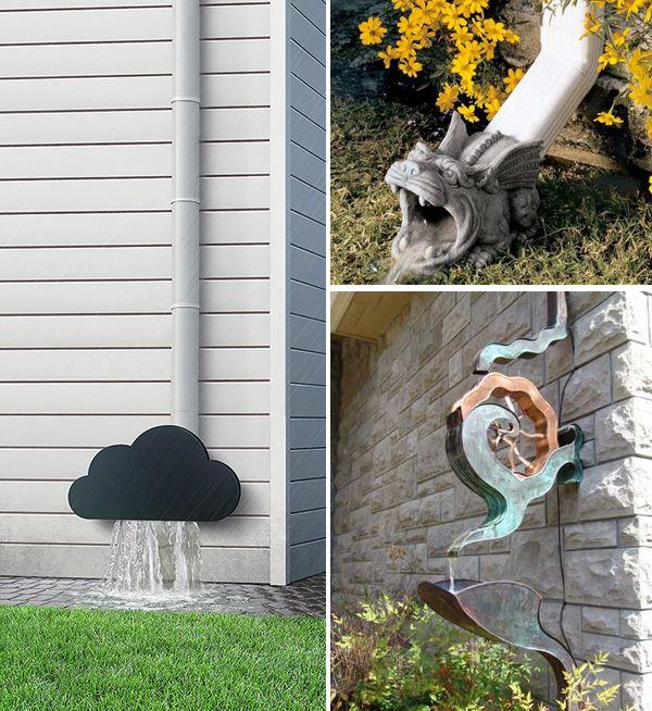 Let It Rain Creative Gutter Ideas Interiorholic Com Cleaning Gutters Gutter Downspout