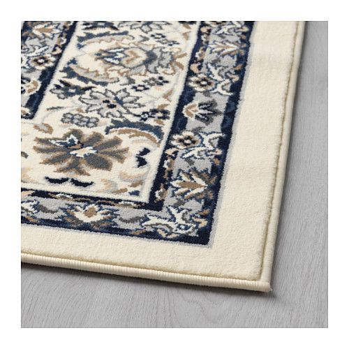 Ikea Kitchen Rugs Canada: VALLÖBY Rug, Low Pile, Beige, Blue