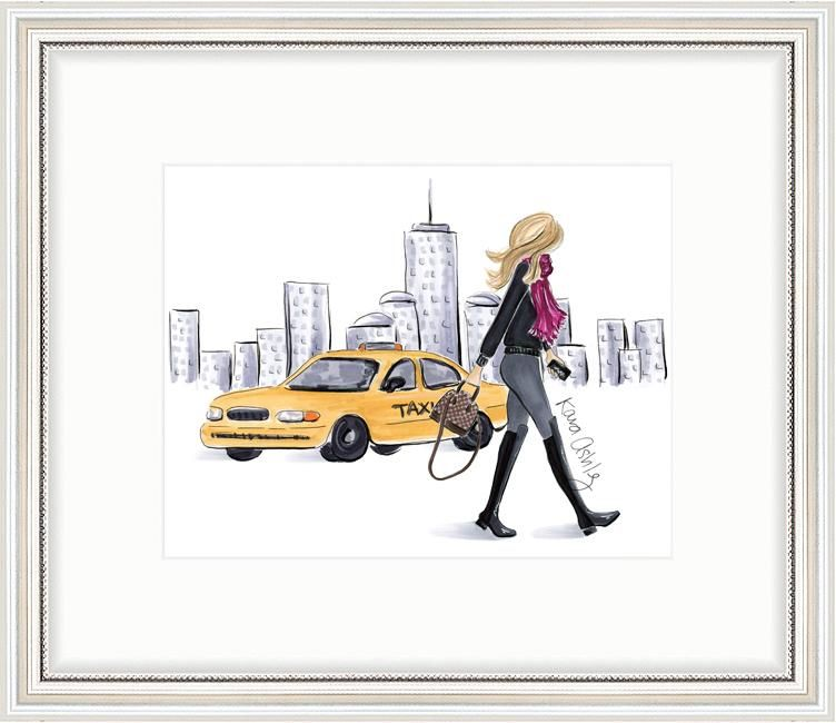 Art Print Print of an original illustration by Kara Ashley Shreeve Printed on luxurious 51lbmattearchival qualitypaper Packaged in a clear sleeve with cardbo