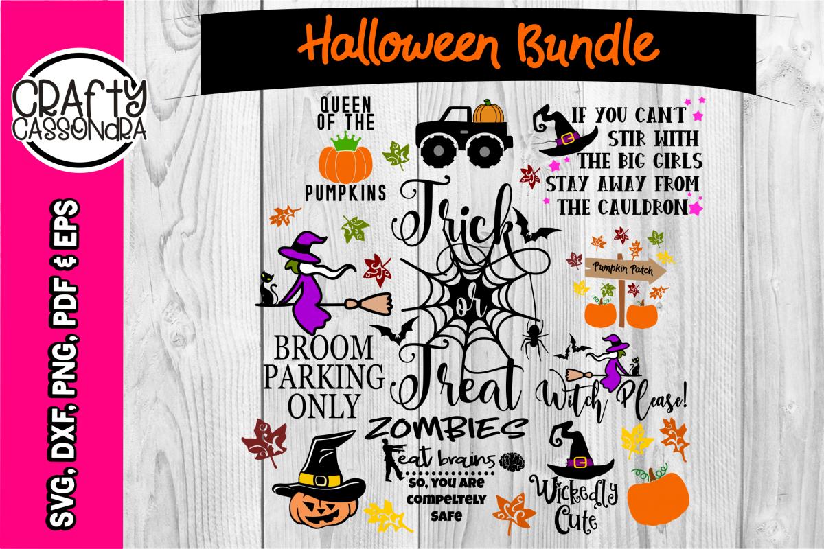 Halloween SVG Halloween bundle Spider web bat svg