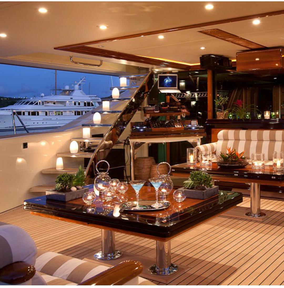 Yacht wedding decorations  Luxury safes luxury yachts yacht interior design luxury boats