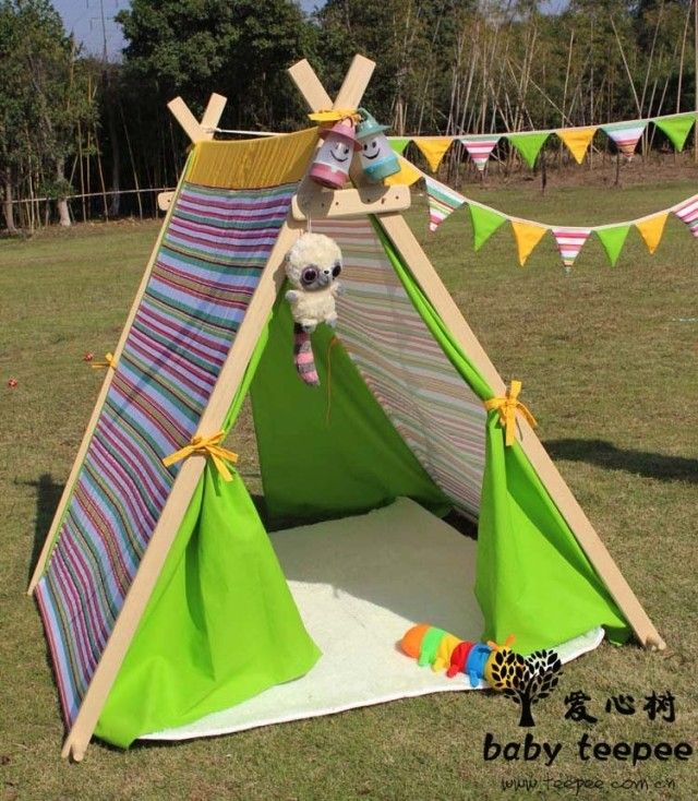 Free shipping Gree Fild Child Toy Adjust Tent Portable Children Play House Kids Outdoor Wigwam Indian & Free shipping Gree Fild Child Toy Adjust Tent Portable Children ...