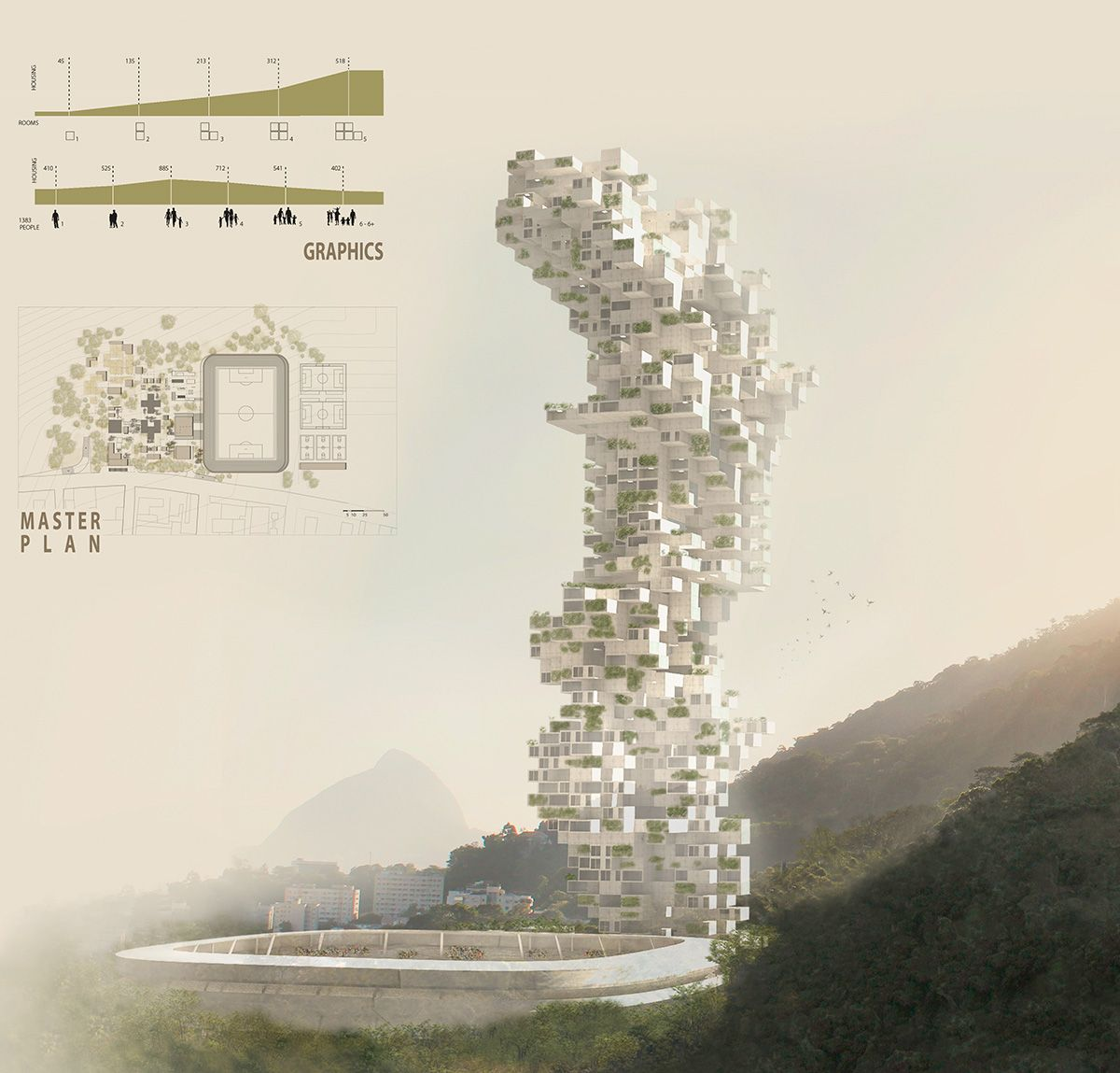 Amazing Architecture Magazine: Favela Skyscraper - EVolo