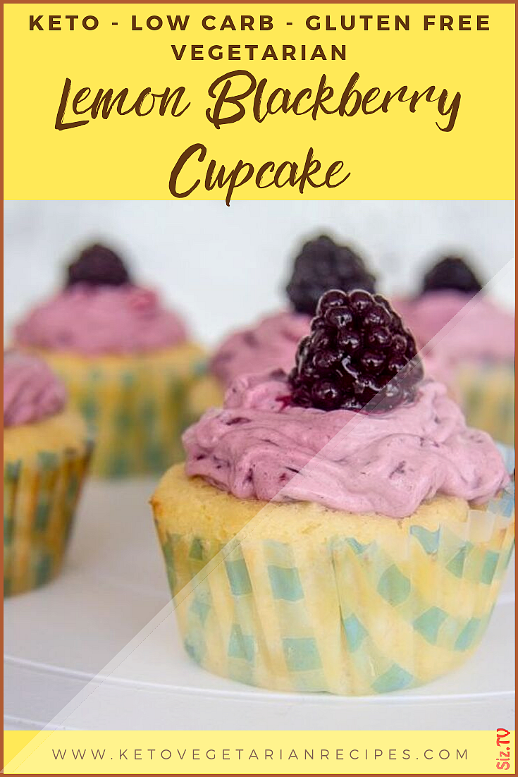 Sharing is caring 33sharesSharePin These light low carb lemon cupcakes are topped with a creamy bla