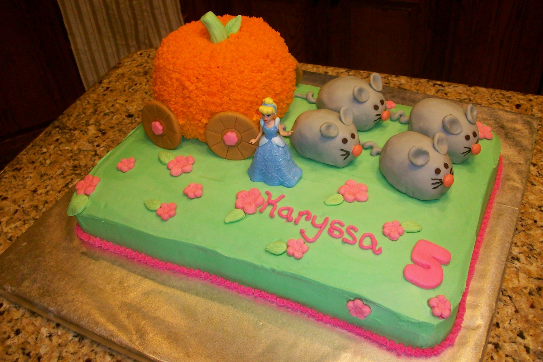 Cinderella meets Pumpkin Patch Cake Where is the Cake
