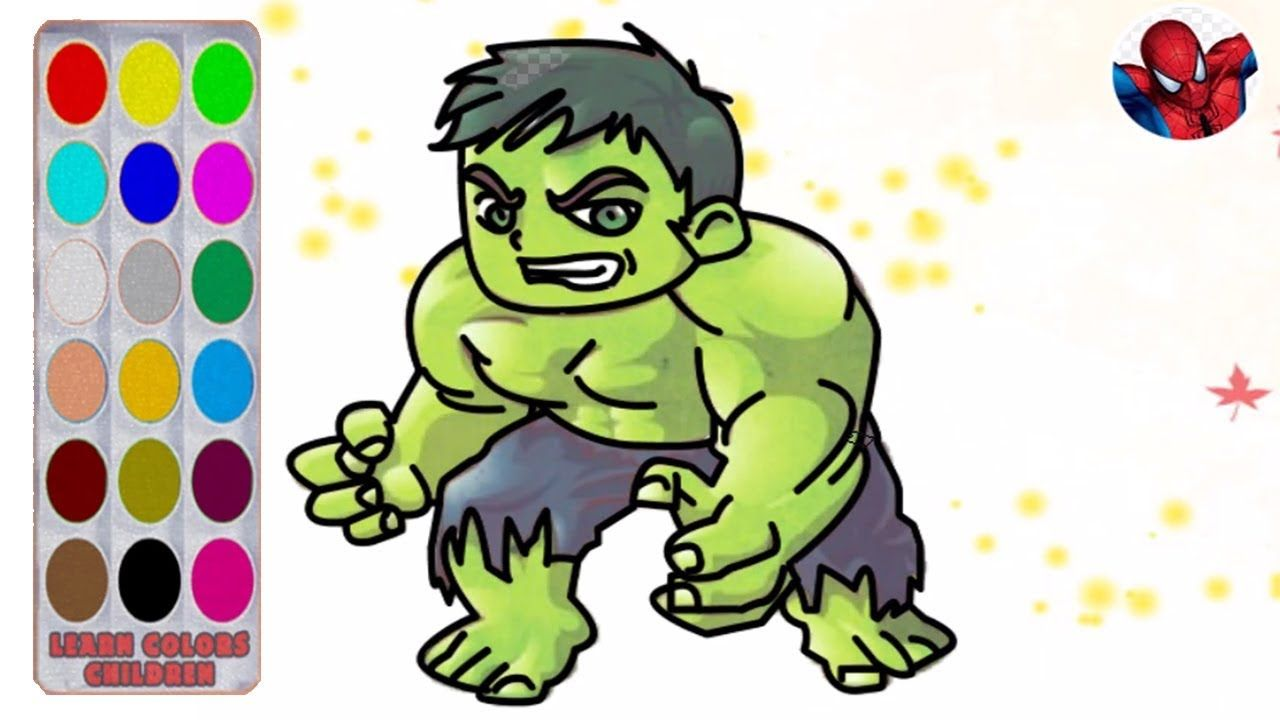 Learn Draw How To Hulk Cartoon Network Easy Drawing With Hulk Cartoon