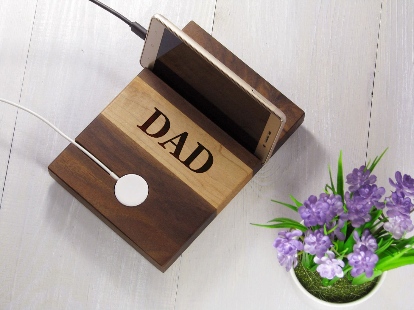 Fathers day gift for dad from daughter personalized apple