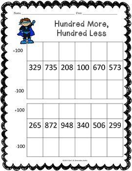 Superhero Math Worksheet Pack 1st 2nd Grade Math Worksheet Math Education Math