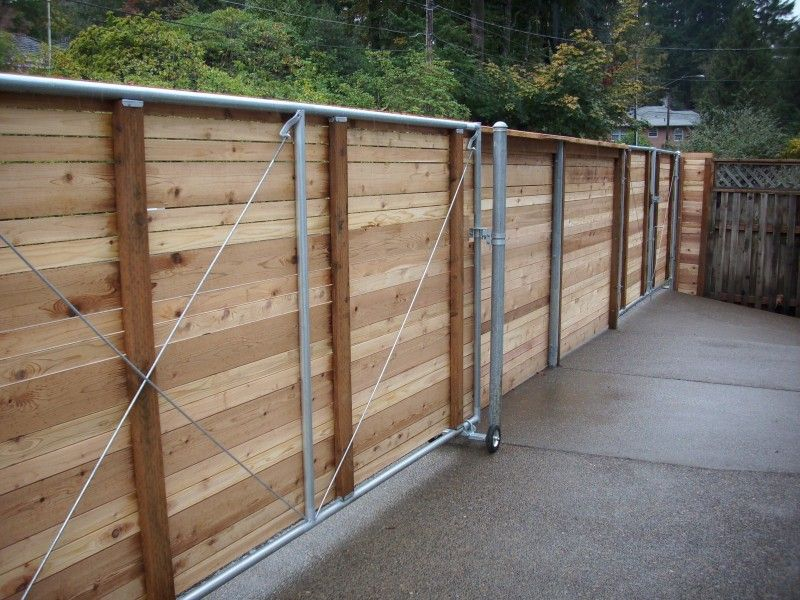 Horizontal Fence Gate For the Home Pinterest Horizontal