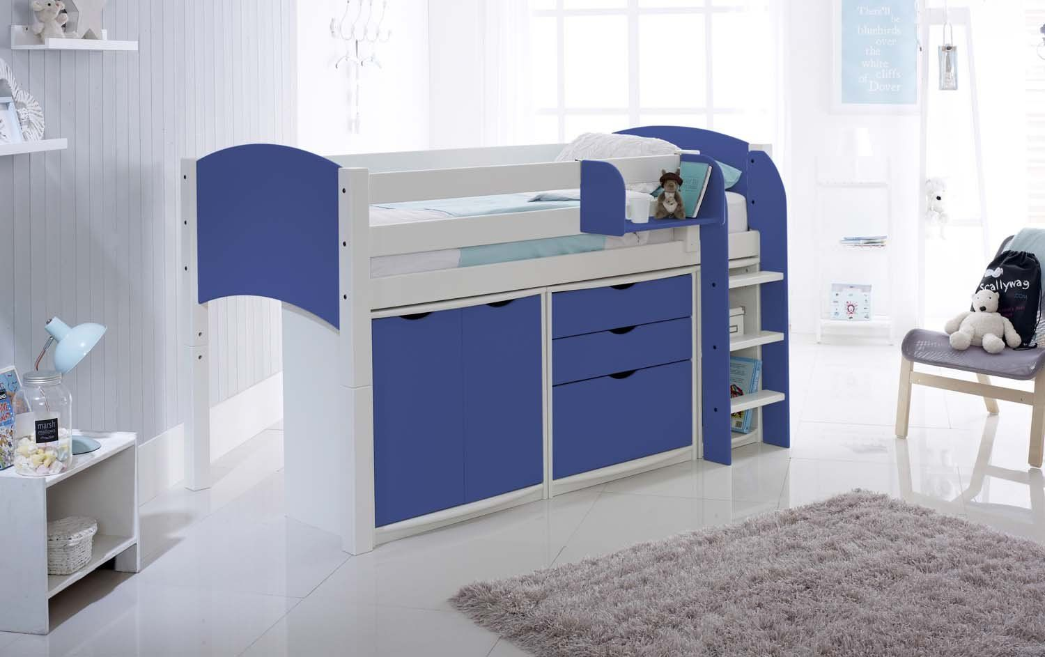 Scallywag Cabin Bed Contour Furniture Package Includes Scallywag - Scallywags bedroom furniture