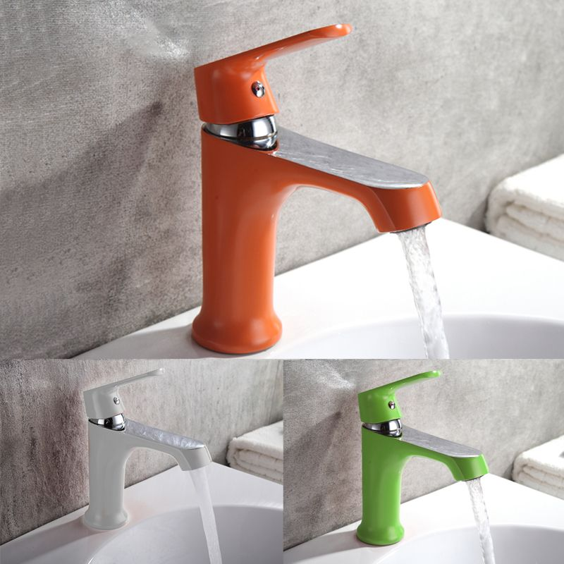 Household Multi-color Bath Kitchen Basin Faucet Cold and Hot Water ...