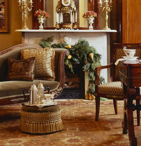 Interior decorating project new orleans creole christmas hal williamson designs decorator la also rh pinterest