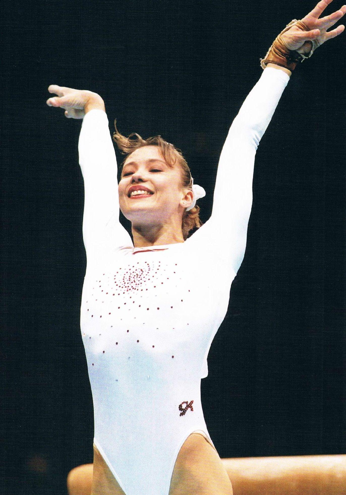 Watch Tatiana Lysenko 3 Olympic medals in gymnastics video